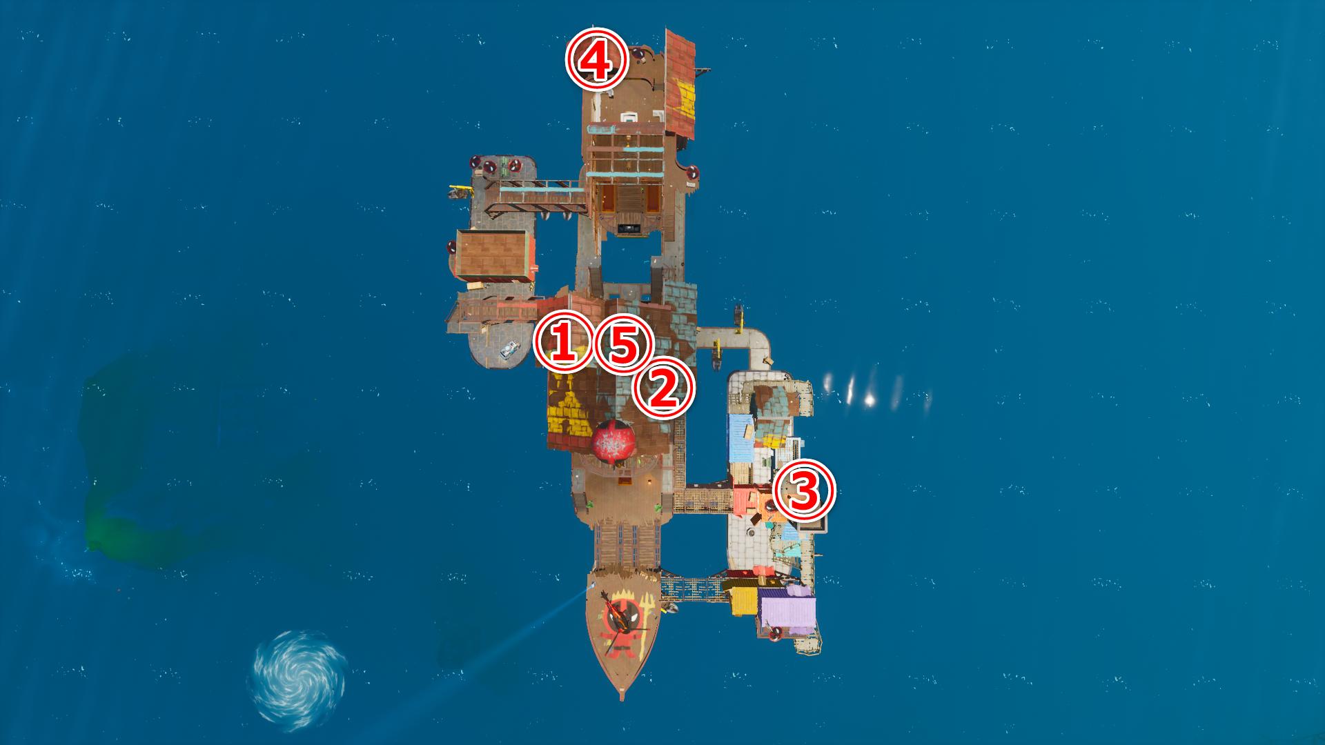 フォートナイト デットプール浮き輪