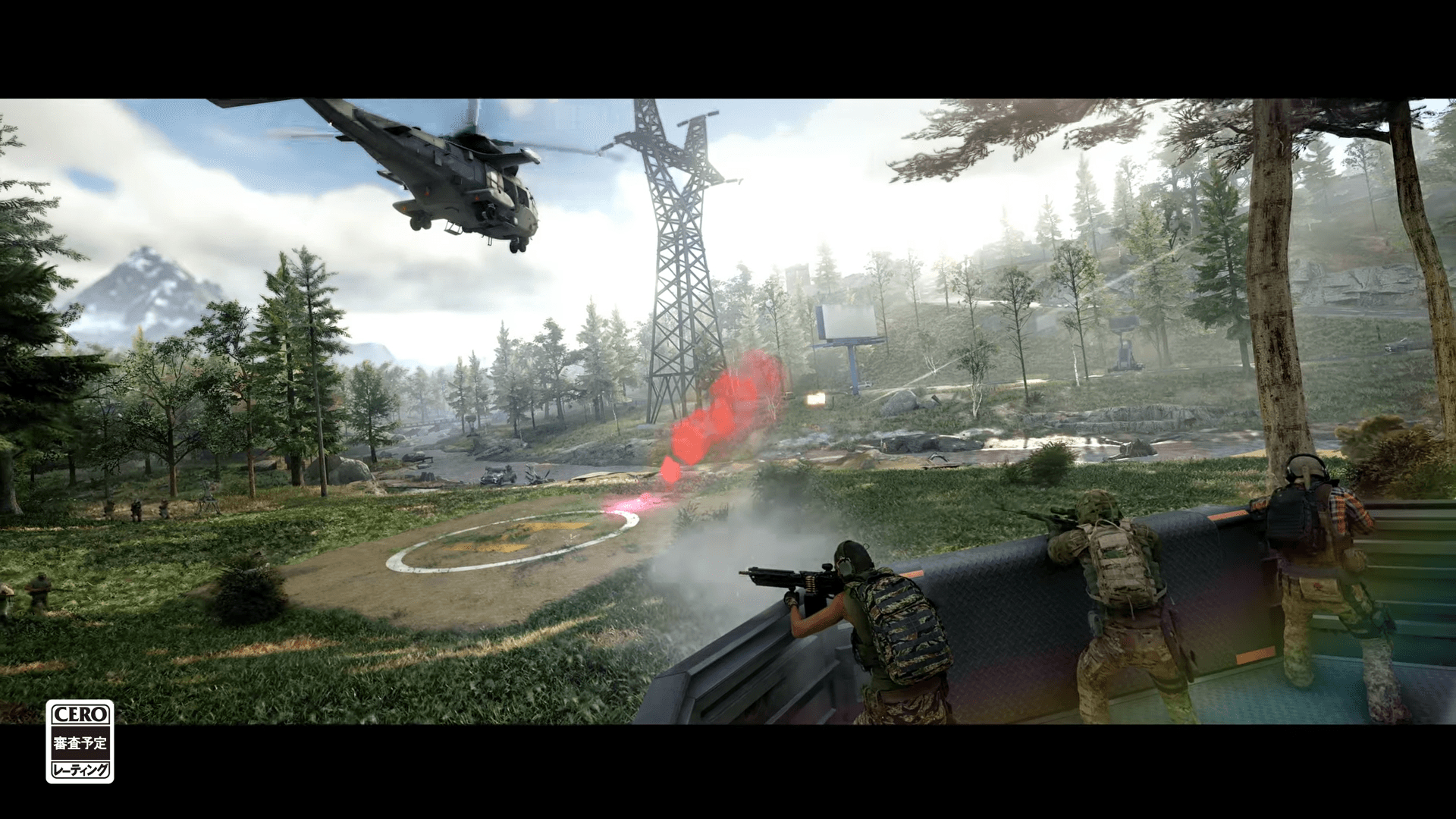 ゴーストリコンフロントラインのゲームプレイ画像