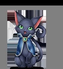 黒猫のウィズの画像