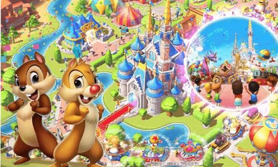 ディズニーマジックキングダムズの画像