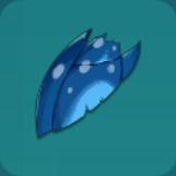 青い翼の鱗アイコン