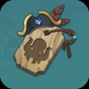 海賊のお守りアイコン