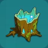 がらんとした木の根元アイコン