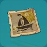 暗号の欠片:帆船アイコン
